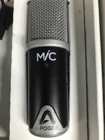 Microfone Apogee Profissional Usado Com Cabo 30 Pib Ios