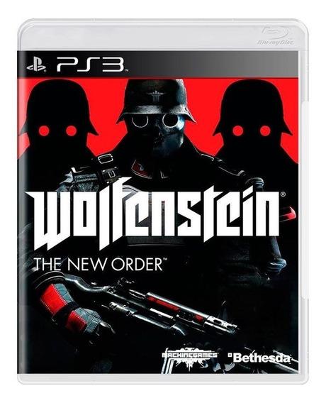 Wolfenstein The New Order Ps3 Mídia Física Pronta Entrega