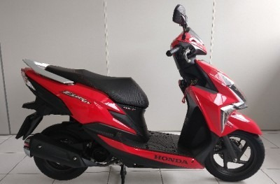 Motocicleta Honda Elite 125 2019 Vermelha
