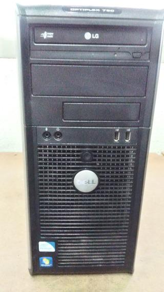 Cpu Dell Modelo Optiplex 780 - Hd 160 Gb - Usada