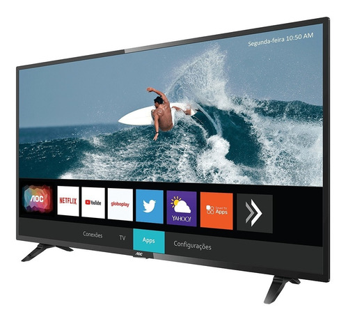 Smart Tv Aoc 43s5295/78g Led Full Hd 43  - Semi Novo