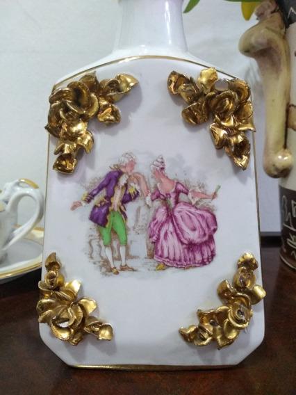 Licorera De Porcelana.made In Portugal.sellada.numerada