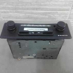 Rádio Automotivo Antigo Vintage Sanyo