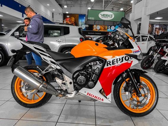 Honda Cbr 500r Repsol Ano 2015 Financiamos Em 36x