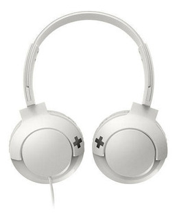 Auriculares Vincha Over-ear Philips Bass + I Blanco