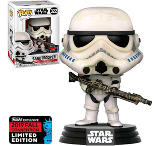 Funko Pop Star Wars Exclusivo Nycc/2019 - Sandtrooper 322