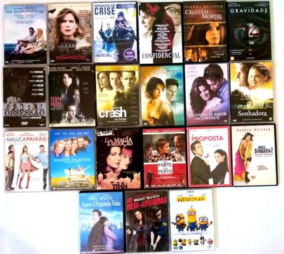 Dvd Sandra Bullock Filmes Colecao - Original