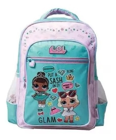 Mochila Escolar Espalda Lol Surprise Glam L.o.l 16´ Estampa