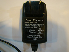 Carregador Sony Ericsson Cst-13