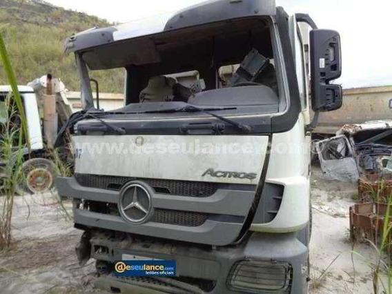 Mercedes Benz Actros 4844 (somente Peças) Caixa De Macha,
