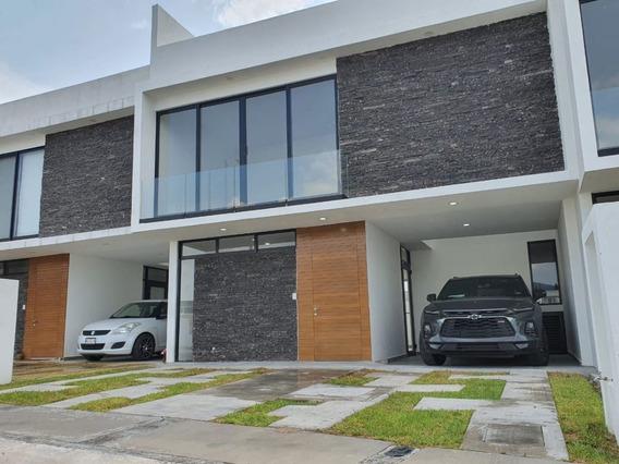 Casa Nueva En Venta Con Roof Garden En Villas El Roble
