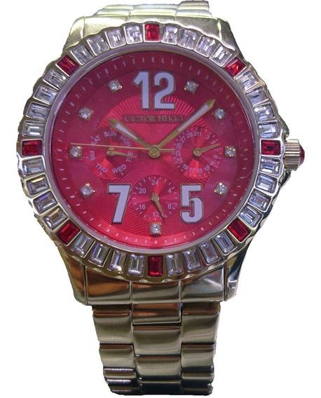 Relógio Victor Hugo Dourado - Vh10008lsg/16m