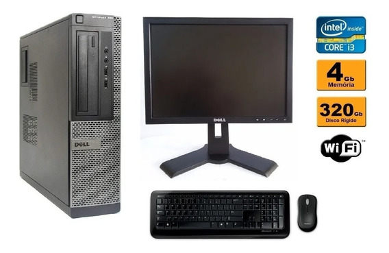 Computador Dell Optiplex 790 Core I3 4gb Ram Hd 320gb Wifi