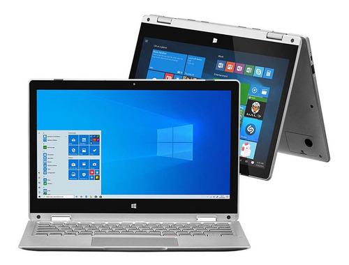 Notebook Pentium 4gb 64gb Multilaser M11w Windows 10 Cinza