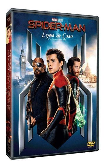Dvd Spider-man Lejos De Casa