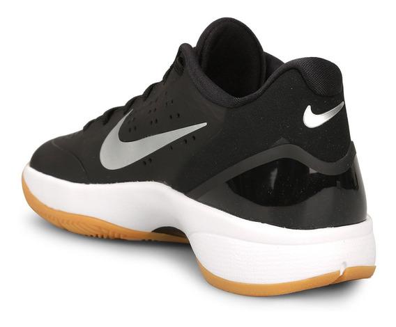 Zapatillas Nike Air Zoom Hyperattac - Negro Y Plateado