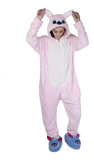 Pijama Kigurumi Stich Plush Importado Stich Burro Cerdito