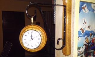 Reloj Artesanal De Madera