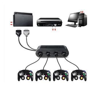 Adaptador Control Gamecube Para Nintendo Switch Wii U Pc