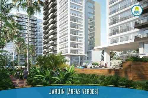 Desarrollo Brezza Towers. Departamento De Lujo En Venta. Tipo B De 2 Recámaras 140 M2. El Table. Cancún Quintana Roo