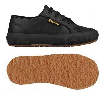 Zapatillas Superga - 2750 Microfiberpuj - Niño - Black