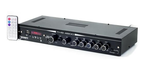 Amplificador Receiver Residencial Taramps Ths 4600 250w Rms
