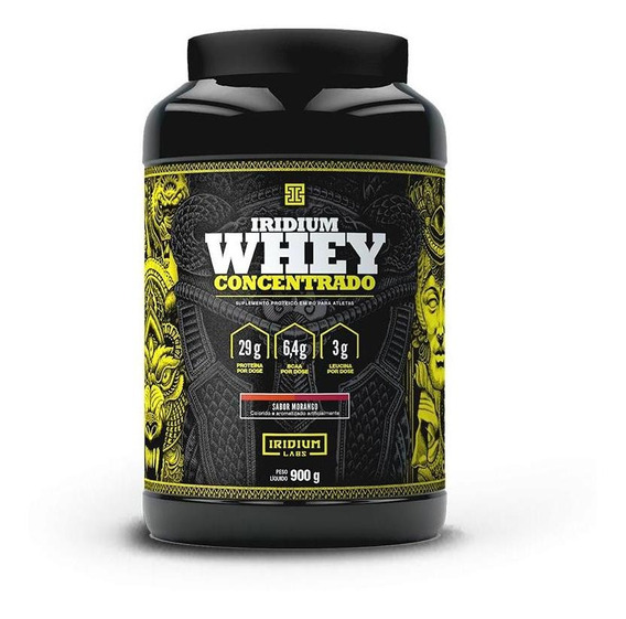 Whey Concentrado (900g) Iridium