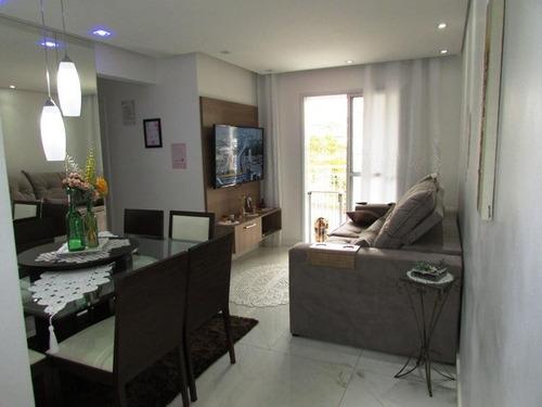 Apartamento Com 3 Dormitórios À Venda, 68 M² Por R$ 390.000,00 - Vila Caraguatá - São Paulo/sp - Ap0193 - 67722219