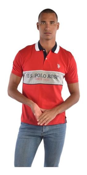 Polo Multicolor Regular Fit U.s. Polo Uslpm447475 Hombre