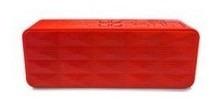 Bocinas Vorago Bluetooth Manos Libres Rojo Bsp-100 V2