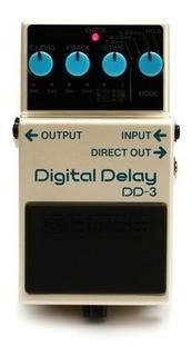 Pedal Para Guitarra Electrica Boss Digital Delay Dd-3
