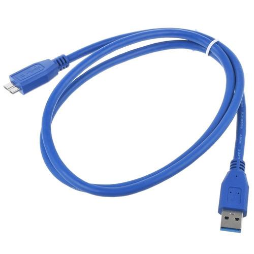 Cable De 3 Pies Usb 3.0 Dc/pc Cargador Cable De Sincronizaci
