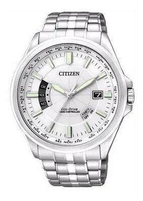 Reloj Citizen Hombre Cb001151a Acero Inoxidable Plateado