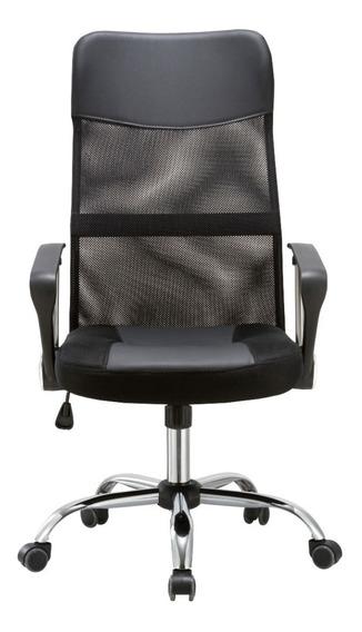Cadeira Presidente De Escritório Em Tela Mesh - Newconcept