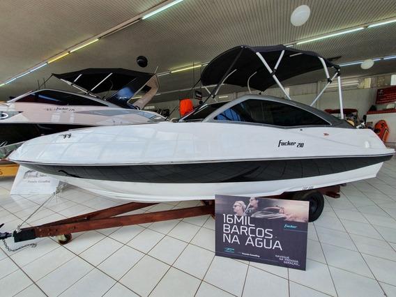 Focker 210 Motor Mercury 150 Hp Efi 4 Tempos E Carreta 2017