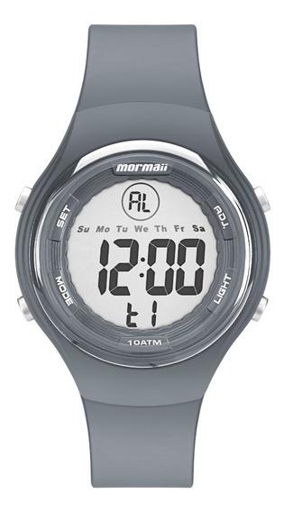 Relógio Mormaii Wave Unissex Digital Cinza Mo0600a/8c