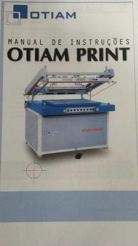 Imagem 1 de 6 de Maquina De Serigrafia Semi Automática