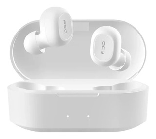 Fone De Ouvido Bluetooth 5.0 Qcy Qs2 White C/ Microfone Luxo