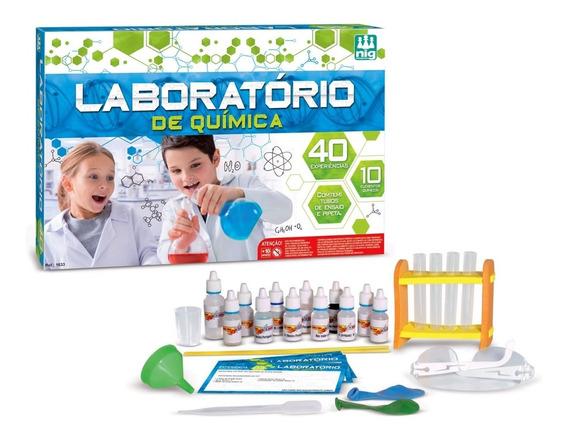 Jogo Laboratório De Química - Nig Brinquedos