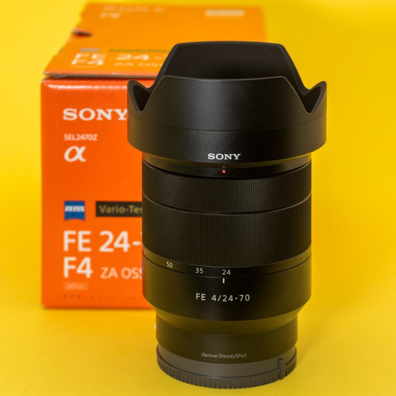 Sony Zeiss 24-70mm F/4 Za Oss R$3900,00 A Vista