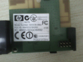 Placa Wifi Wirelles Hp Officejet Pro 8500a