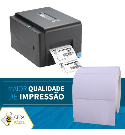 Bobina Etiqueta Adesiva 100x150 Para Impressora Térmica 5un