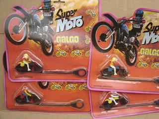 Super Moto Galgo Años 80´s - Rueda Trasera De Metal