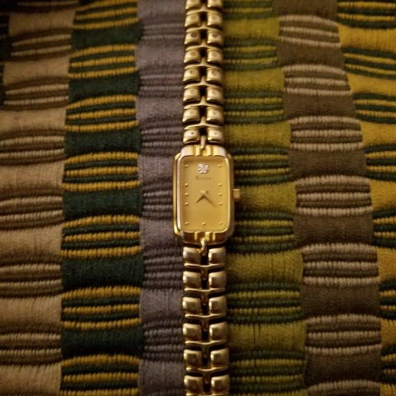 Relógio Bulova Feminino Tom Dourado Quartzo Link T6