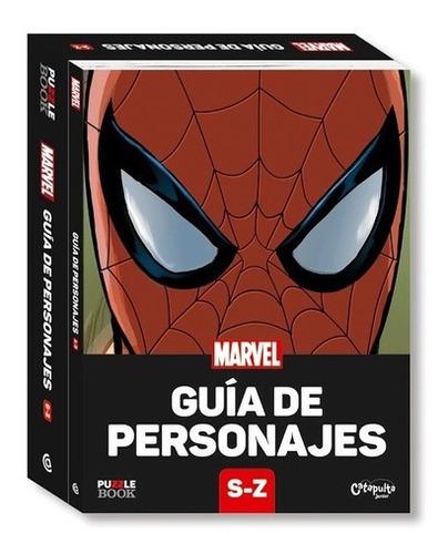 Imagen 1 de 1 de Libro Marvel - Guía De Personajes S - Z + Rompecabezas