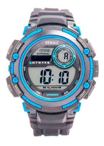 Reloj Strike Watch Resina M1200-0aea-bkbu Hombre Original