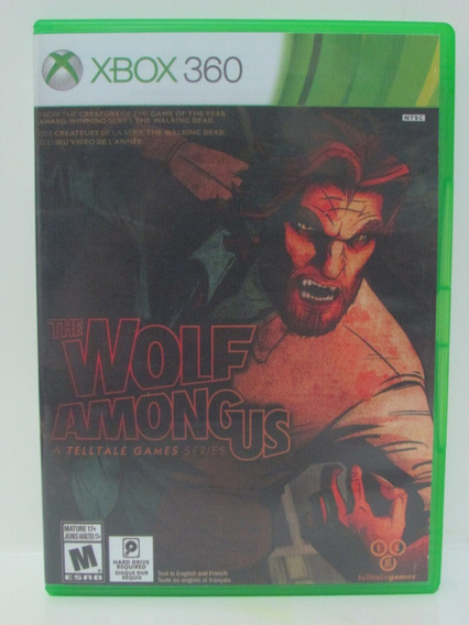 The Wolf Among Us - Game Xbox 360 Original Americano