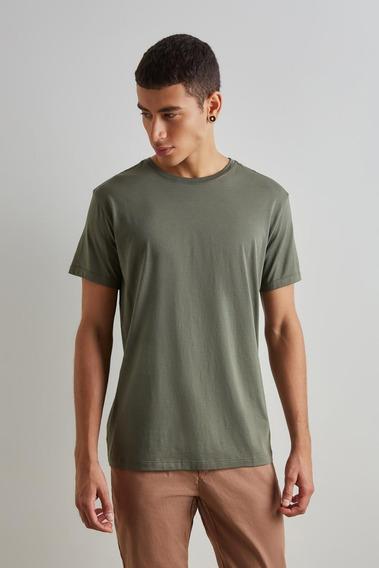 Camiseta Gola Careca Pima Levinha Reserva