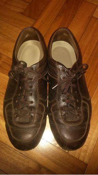 Zapatillas Hombre Cuero Nro 41 Impecables