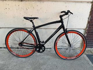 Bicicleta Liberty Fixie Baires Aluminio 28 Flip Flop